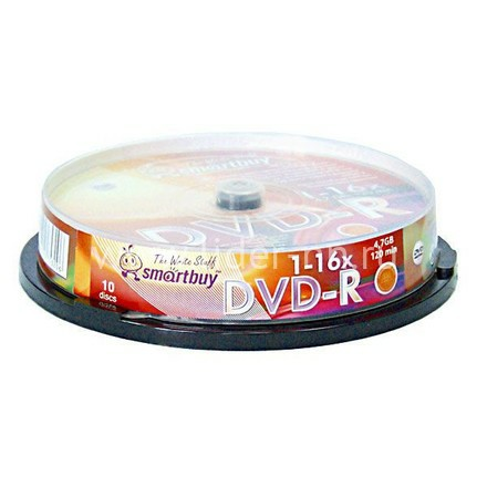 Smart Buy DVD-R 4.7 Gb/16x/Cake box 10/200