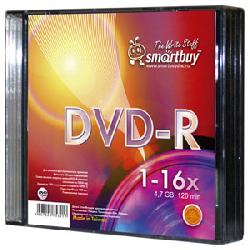 Smart Buy DVD-R 4.7 Gb/16x/Slim 5