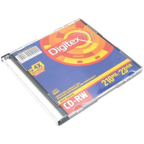 Digitex CD-RW  210mb/23 min/1x4x/10шт
